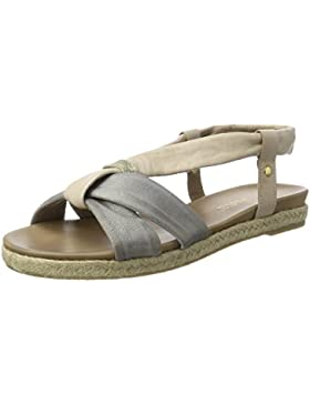 Jana Damen 28102 Offene Sandalen mit Keilabsatz