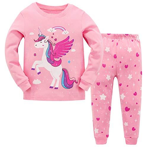 Garsumiss pigiama a maniche lunghe per ragazze pigiama due pezzi in cotone morbido