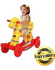 Shiv Online Toys 2 in 1 Baby Horse Rider | Rocker for Kids 1-3 Years Birthday Gift for Kids/Boys/Girls (Multicolour)