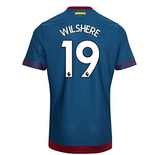 2018-2019 West Ham Away Football Soccer T-Shirt Camiseta (Jack Wilshere 19)