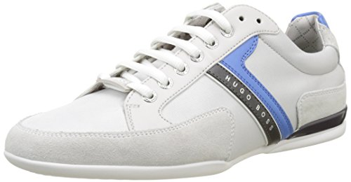 Boss Green Spacit 10167195 01, Sneakers Basses Homme Gris (Light/pastel Grey 56)