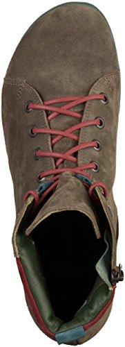 Think Menscha, Stivali Desert Boots Donna Grigio (Vulcano/kombi 21)
