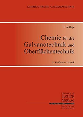 Chemie für die Galvanotechnik und Oberflächentechnik