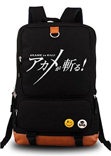 Siawasey Anime Akame Ga Kill Cosplay Luminous Rucksack Daypack Schultasche Laptop Schule Tasche