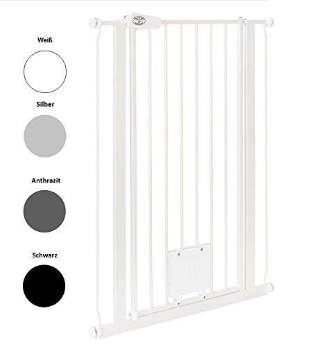 Original IMPAG Treppen und Tür-Schutzgitter Nala |75 -149 cm | Extrahoch 105 cm | Speziell für...