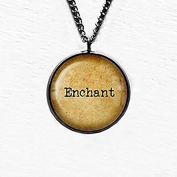 Enchant Verzaubern Anhänger Halskette
