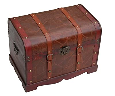 Traditional Storage Trunk/Coffee Table