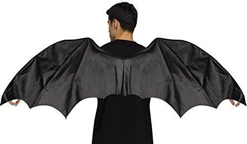 Schwarze Dragon Halloween Mittelalterlich Wings Kostüm Kleid Outfit (Halloween-dragon Wings)