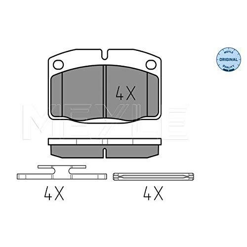 Meyle 025 209 3915 Kit de plaquettes de frein, frein à disque