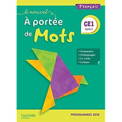 Le Nouvel A portée de mots CE1 - Manuel élève - Edition 2019