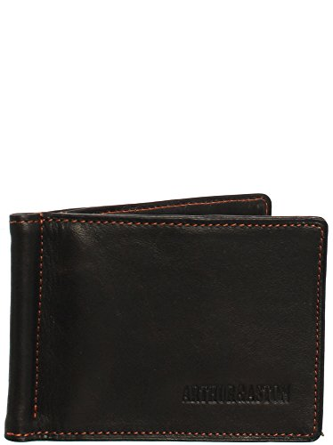 Arthur & aston - Porte-cartes Arthur et Aston en cuir ref_ast42541 J Châtaigne-orange 11*8*1
