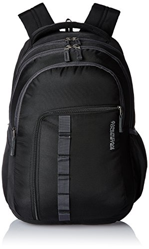 American Tourister Comet Black Laptop Backpack (Comet 03_8901836135312)