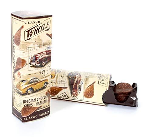 Classic Wheels - Chocolate-Chips Süßwaren Belgische Schokoladen - 125g