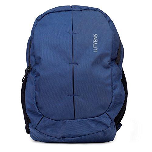Lutyens Blue Polyester School Bag (19 Liter)(Lutyens_336)