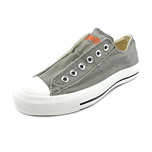 Converse - Chuck Taylor All-Star Charcoal / Orange Slip-on Schuhe (1X841), EUR: 38, Grey/Orange (Star All Slip-charcoal Converse)