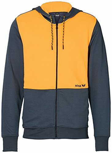 erima Herren Jacke Green Concept Silex/Orange Pop, M (Herren Green Jacket Suit)