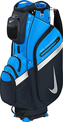 2016 Nike Performance Cart IV Mens Golf Bag Trolley/Tour Bag 14-Way Divider Photo Blue