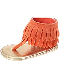 3db85382ae4 ZHRUI Zapatos de bebé, recién nacidos, niños, cuna de verano, suela suave,  sandalias de flores, niñas bebés, niños,…