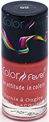 Color Fever Nude Collection Nail Gloss, Brick Earth, 9ml