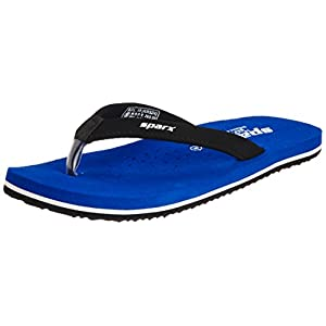 Sparx Women's Blue Flip-Flops and House Slippers – 6 UK/India (39.33 EU) (SFL-19)