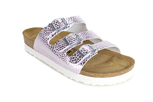 JOE N JOYCE Paris SynSoft Soft-Fußbett Leorose Größe 37 Normal Sandalen -