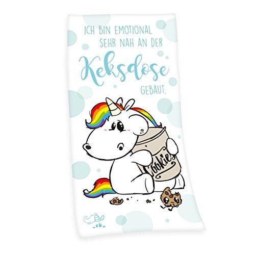 Pummeleinhorn Velourstuch - Keksdose Mehrfarbig