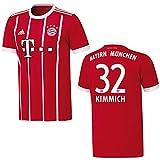 adidas Bayern Trikot Home Kinder 2018 - KIMMICH 32