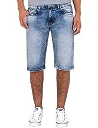 by-tex Herren Jeans Shorts Herren kurze Hosen Herren kurze Jeans Hose  Bermuda Shorts Sommer 2becb7b455