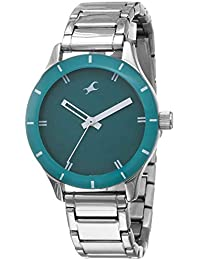 Fastrack Analog Green Dial Women's Watch NM6078SM01 / NL6078SM01