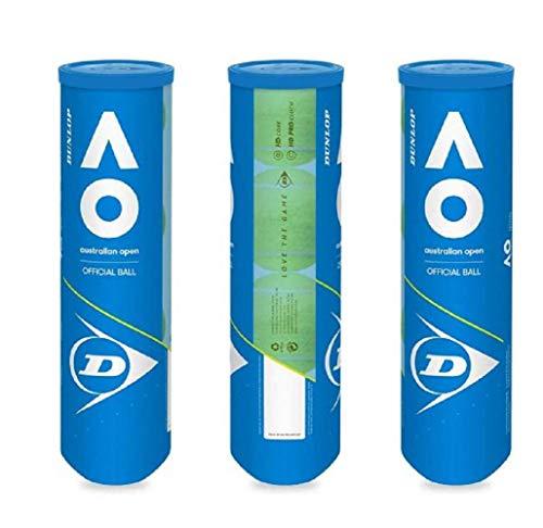 DUNLOP Australian Open Tennisball 3 x 4er Dosen 12 Bälle