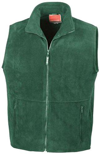 Result Herren Outdoor Active Fleece Weste Grün