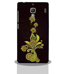 Yellow Design -Mobile Back Case Cover For Xiaomi Redmi 2s
