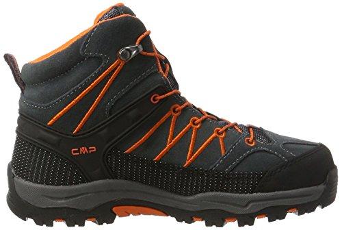 CMP Unisex-Erwachsene Rigel Mid Wp Trekking-& Wanderschuhe Schwarz (Asphalt)