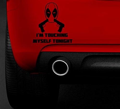 Deadpool Berühren Mich mit Guns Funny Auto Van Aufkleber Auto Boot Fenster vinyl Aufkleber