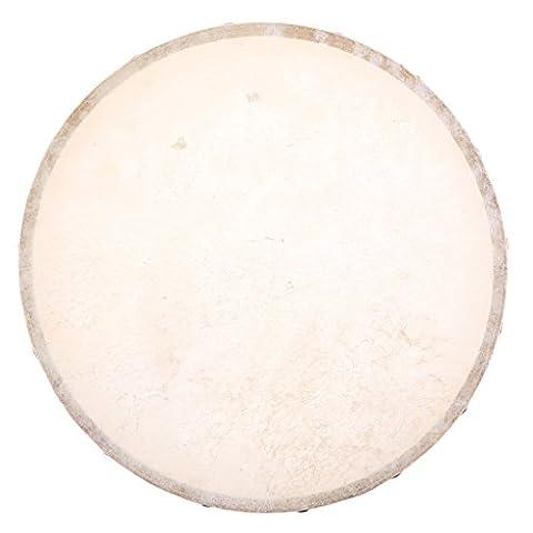 Gazechimp Handtrommel Trommel aus Holz Percussion Drums Musikinstrument Spielzeug - 4 / 6 / 7 / 8 / 10 Zoll - 10 Zoll