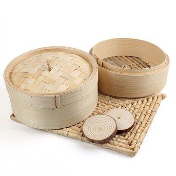 2 Tier Steamer Dim Sum Basket Rice Pasta Cooker