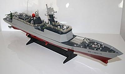 RC Fregatte SACHSEN ferngesteuertes Kriegsschiff Schwere Qualität, viele Details - Alles inklusive! von B+K