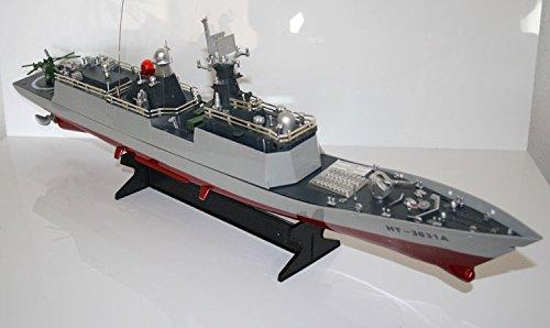RC Fregatte SACHSEN ferngesteuertes Kriegsschiff Schwere Qualität, viele Details - Alles inklusive!