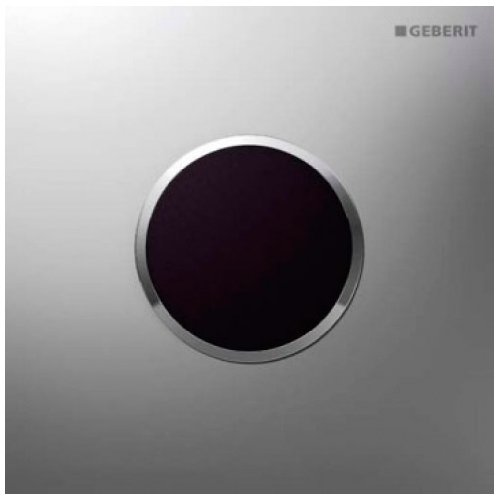 Preisvergleich Produktbild Geberit 116.035. Kn. 1–E-System Download Sigma10, auf Akku, Chrom matt/chrom glänzend/Chrom matt