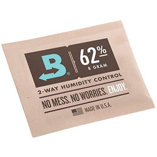 Boveda 8 Gram 62% Humidity Humidipack 2 Way Control for Cigar humidors (15x 8 Gram Packet)