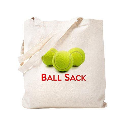 CafePress pelota tenis de-gamuza saco-lona