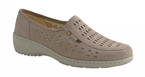 WALDLÄUFER KYA 607503191094 Damen Slipper Beige
