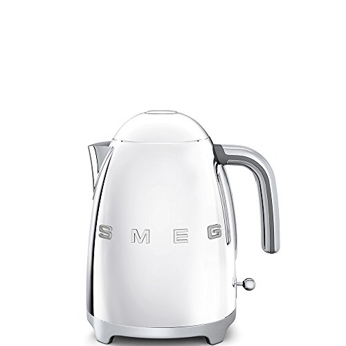 Smeg KFL03SSUK & TSF01SSUK | Chrome Kettle & Two Slice Toaster | 2017 Kettle Model