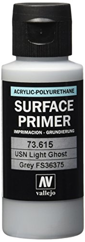 Vallejo Modell Farbe 60 ml Polyurethan-Primer USN Light Ghost Grey -