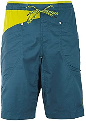 La Sportiva Bleauser Shorts Men ocean/citronelle 2017 Hose kurz