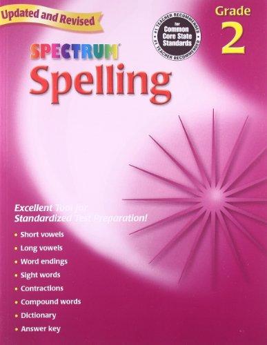 Spectrum Spelling: Grade 2