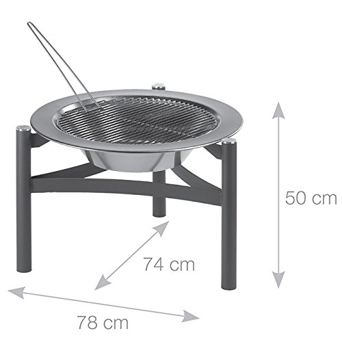 Dancook 9000 – Bonfire Barbecue Grill.