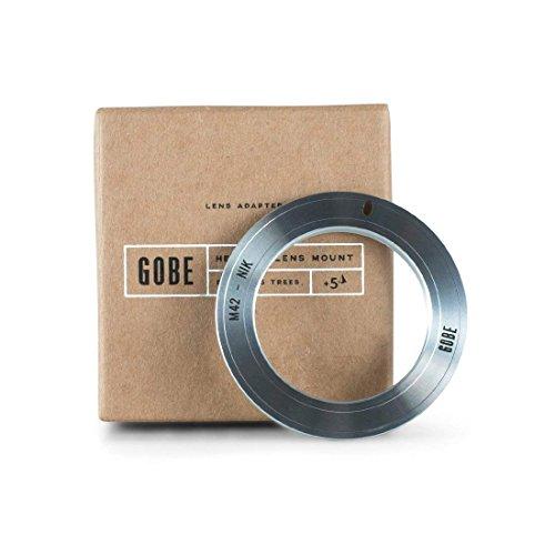 Gobe Lens Mount Adapter: Kompatibel mit M42-Objektiv und Nikon F-Kameragehäuse -