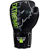 EXTREME Boxhandschuhe professionelle hochwertige premium Qualität aus echtem Leder Sandsack Training Sparring Muay Thai Kickbox Freefight Kampfsport BJJ Sandsackhandschuhe Gloves FOX-FIGHT
