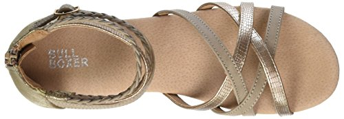 Bullboxer Aed009f1s, Sandales  Bout ouvert fille Beige (stone)